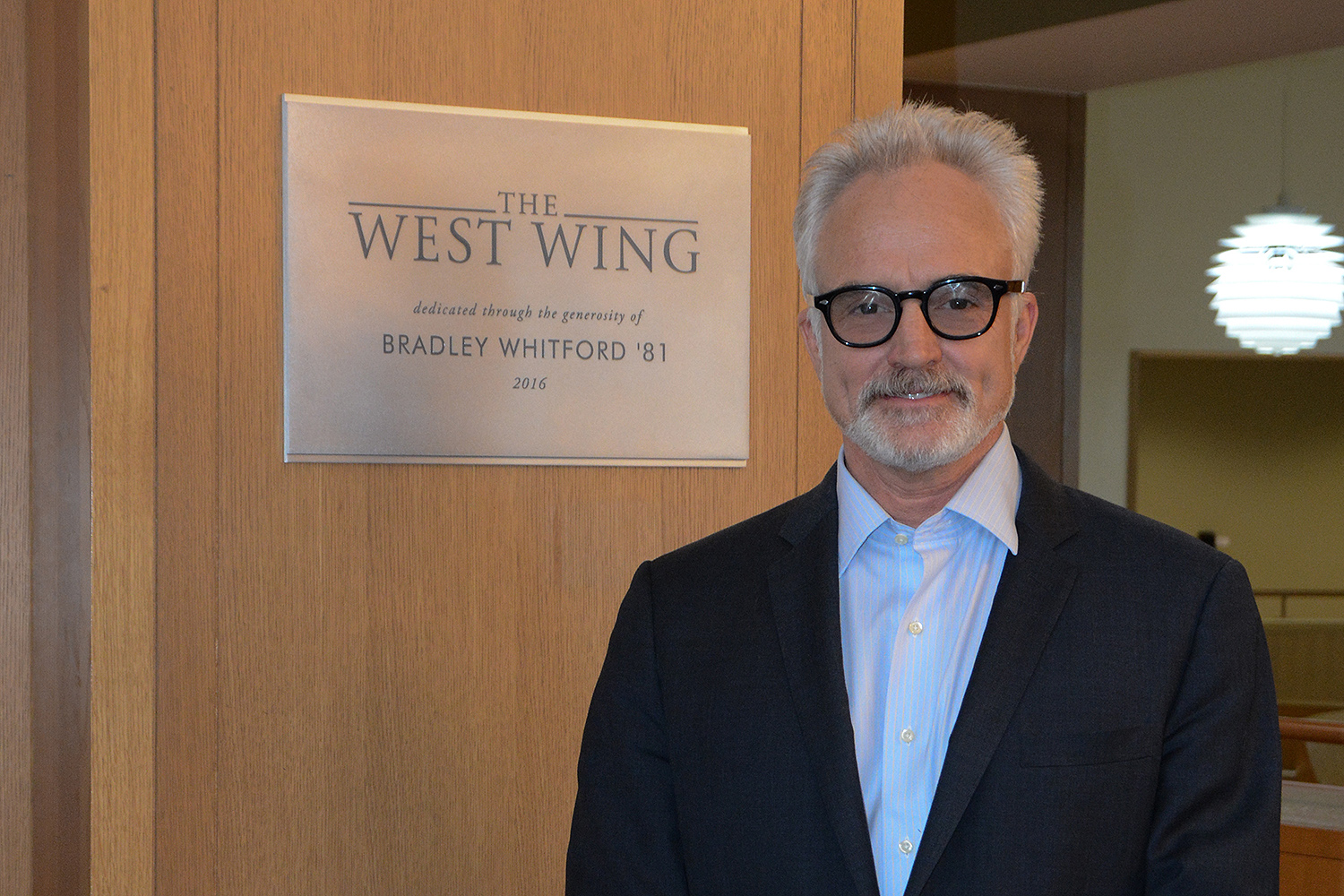 Bradley Whitford, an actor, played White House Deputy Chief of Staff Josh Lyman on the NBC television drama The West Wing. Whitford was nominated for three consecutive Emmy Awards from 2001 to 2003 for Outstanding Supporting Actor in a Drama Series for his role on The West Wing, winning the award in 2001. He received a second Emmy Award in 2015 for his role in Transparent.