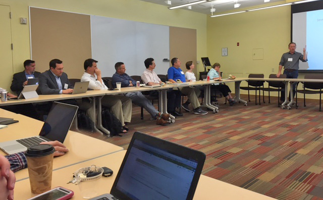 The Eduroam Summit was held inside Usdan University Center on June 23.