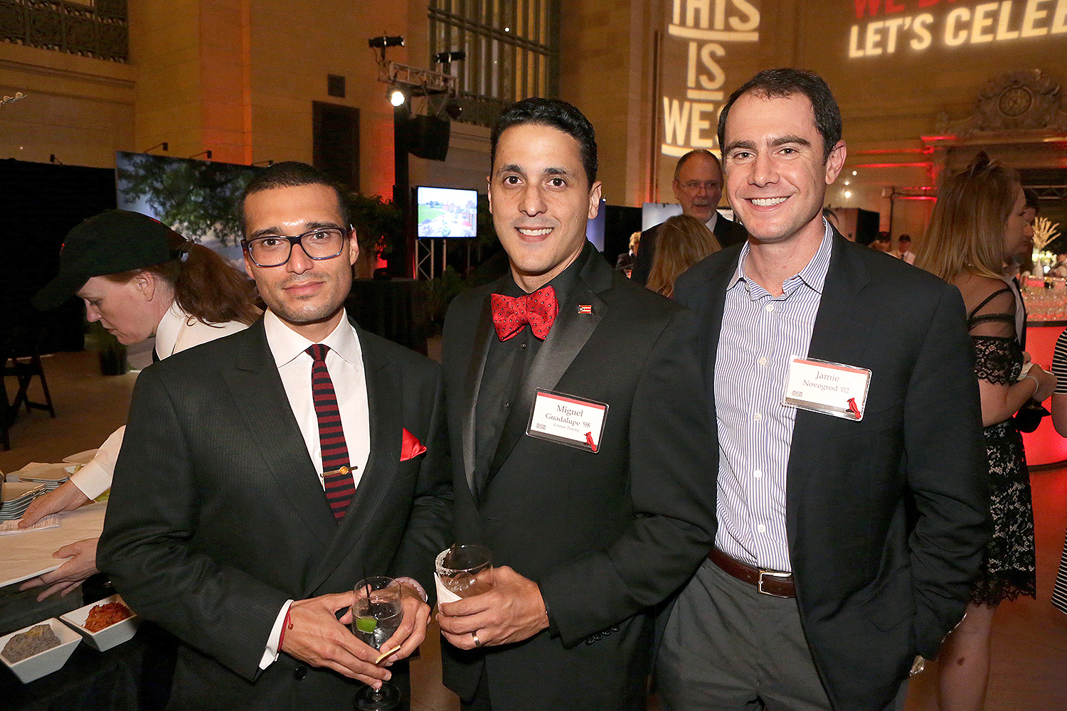 Wesleyan University and Campaign Chair John Usdan '80 P'15, P'18, P'18, hosted a THIS IS WHY Campaign Celebration at Grand Central Station, New York, N.Y. on June 16, 2016. (Photo by Robert Adam Mayer)