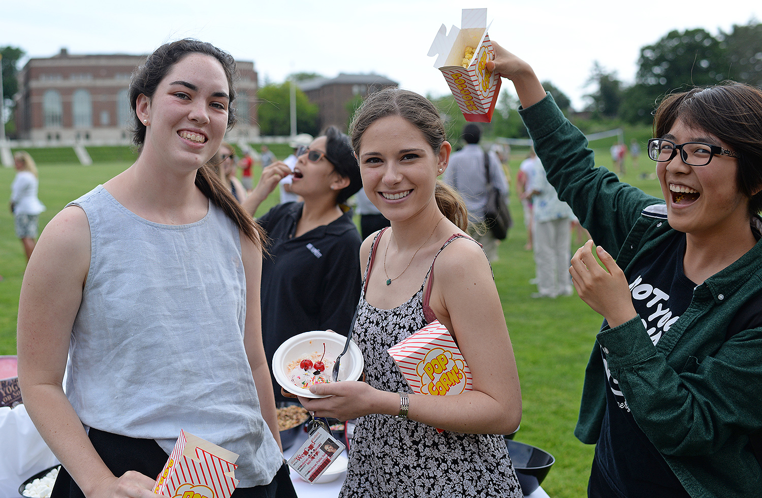 On June 1, the Office of Human Resources hosted an Ice Cream Social for faculty, staff and employed students on Andrus Field and the Huss Courtyard.