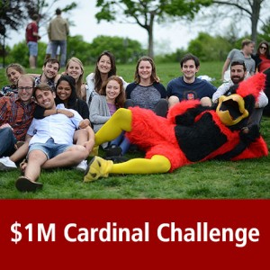 In June 2016, the Cardinal community joined together to secure 1 million for financial aid by participating in the $1 Million Cardinal Challenge. John Usdan '80, P'15, '18, '18 gave $500 towards every gift made.