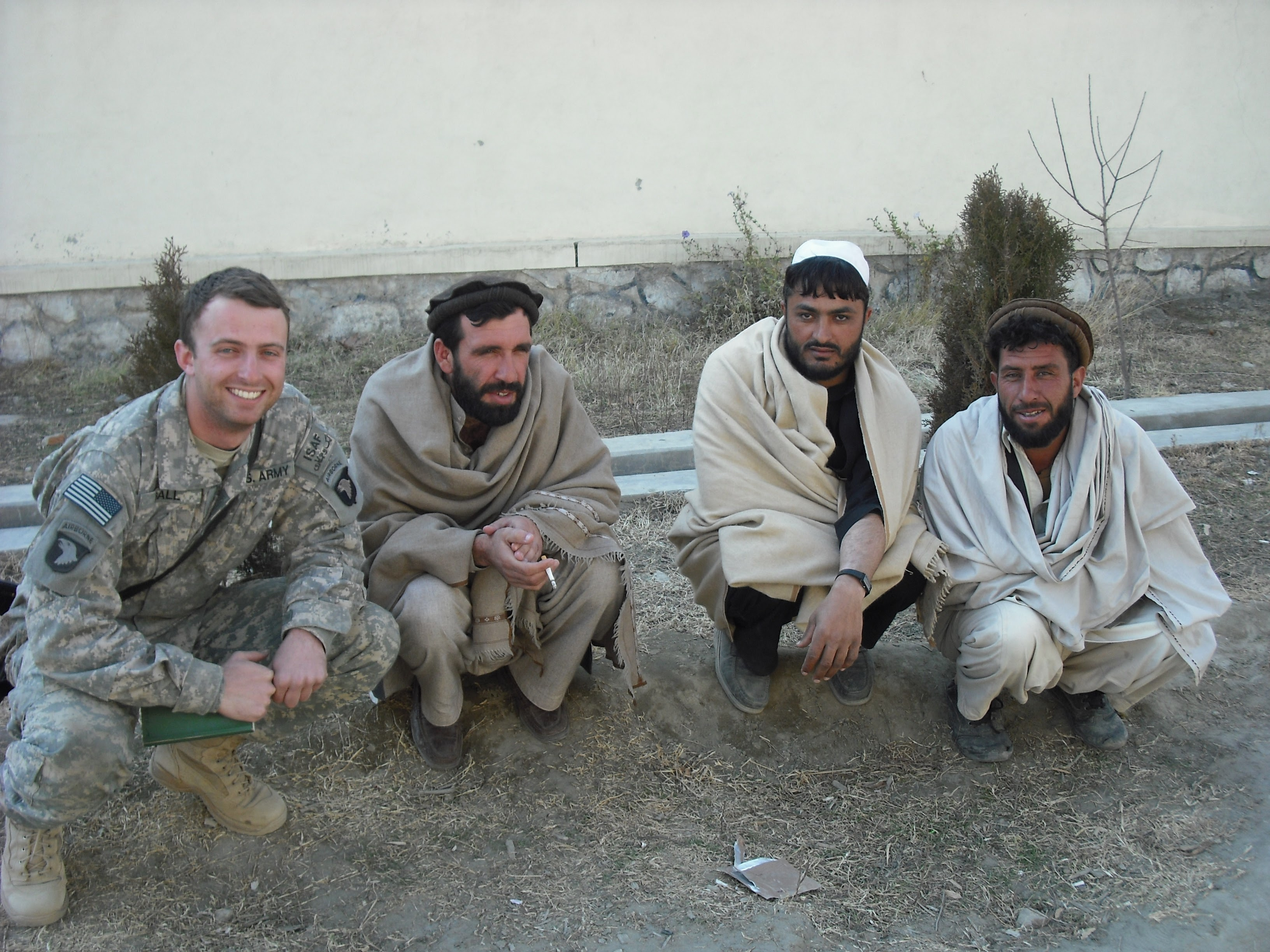 Matthew Ball '08 passed up a lucrative job in the financial sector to serve in Afghanistan as an Army Ranger after graduation. He and his cohorts relied on Afghani translators who frequently risked their lives for the American Troops.