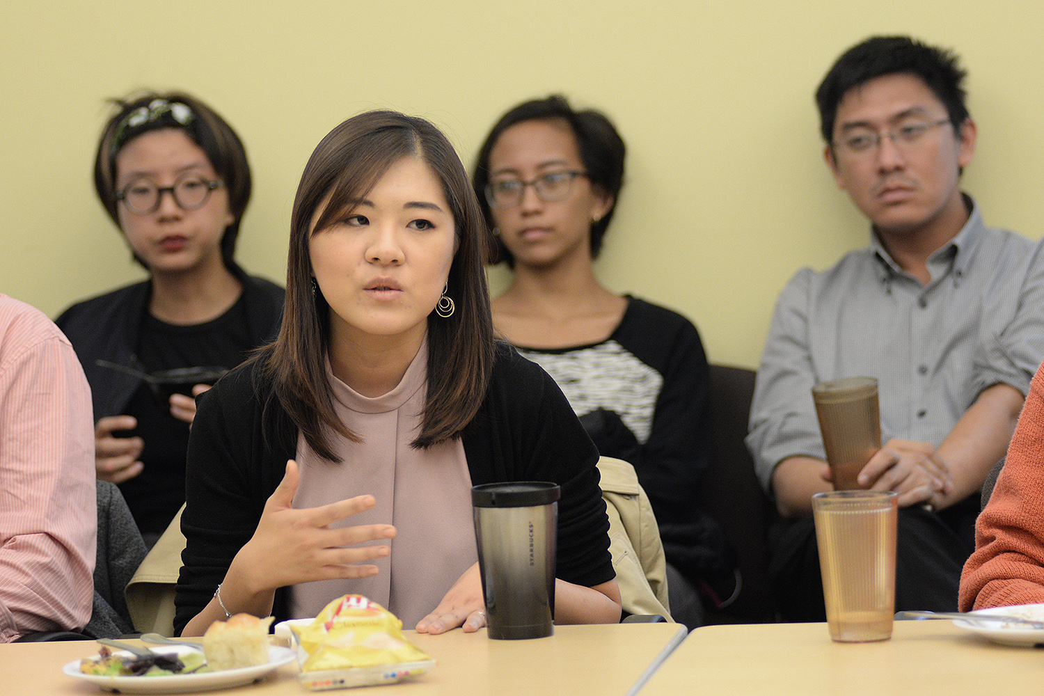 """Joan Cho, assistant professor of East Asian studies, assistant professor of government, shared that she is a """"1.5 generation Korean American,"""" meaning that she was born in South Korea, and by choice, naturalized to become a U.S. citizen.""""Being a 1.5 generation allows me to understand some of the different experiences and perspectives between the first generation (Asians living/studying/working in the U.S.) and second generation (those who are more likely to identify themselves as 'Asian Americans'),"""" she said."""