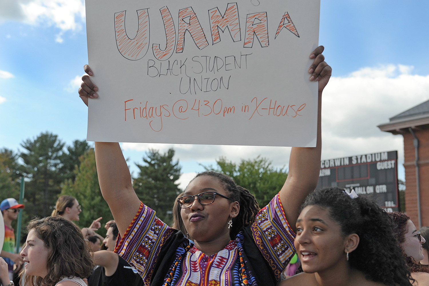 Ujamaa is Wesleyan's Black Student Union committed to the exploration and celebration of Blackness. Members are dedicated to educating their communities, and building strong individual and collective characters. Through continuous efforts to remain socially aware and politically active, the group works to build effective leaders for the Wesleyan community and the world.