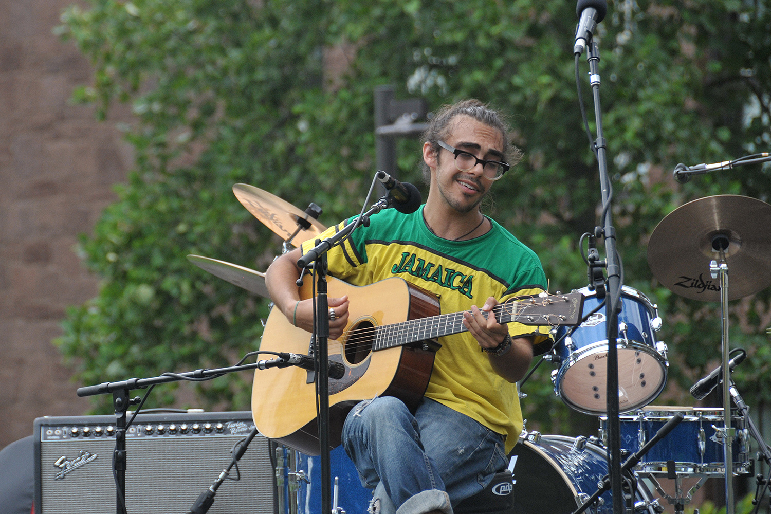 The Mash at Wesleyan University, Sept. 9. (Photo by Caroline Kravitz)