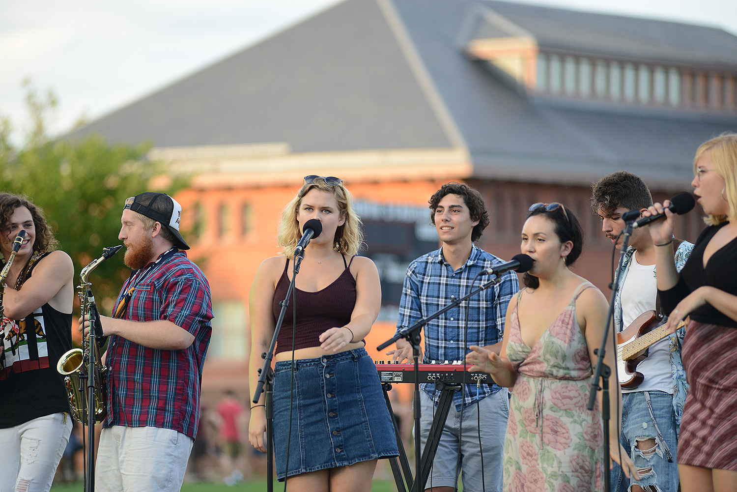 The MASH at Wesleyan University, Sept. 9. (Photo by Will Barr '18)