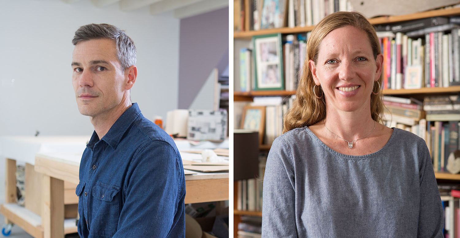 "Vincent Fecteau '91 and Maggie Nelson '94 received MacArthur ""genius grants"" Sept. 22."