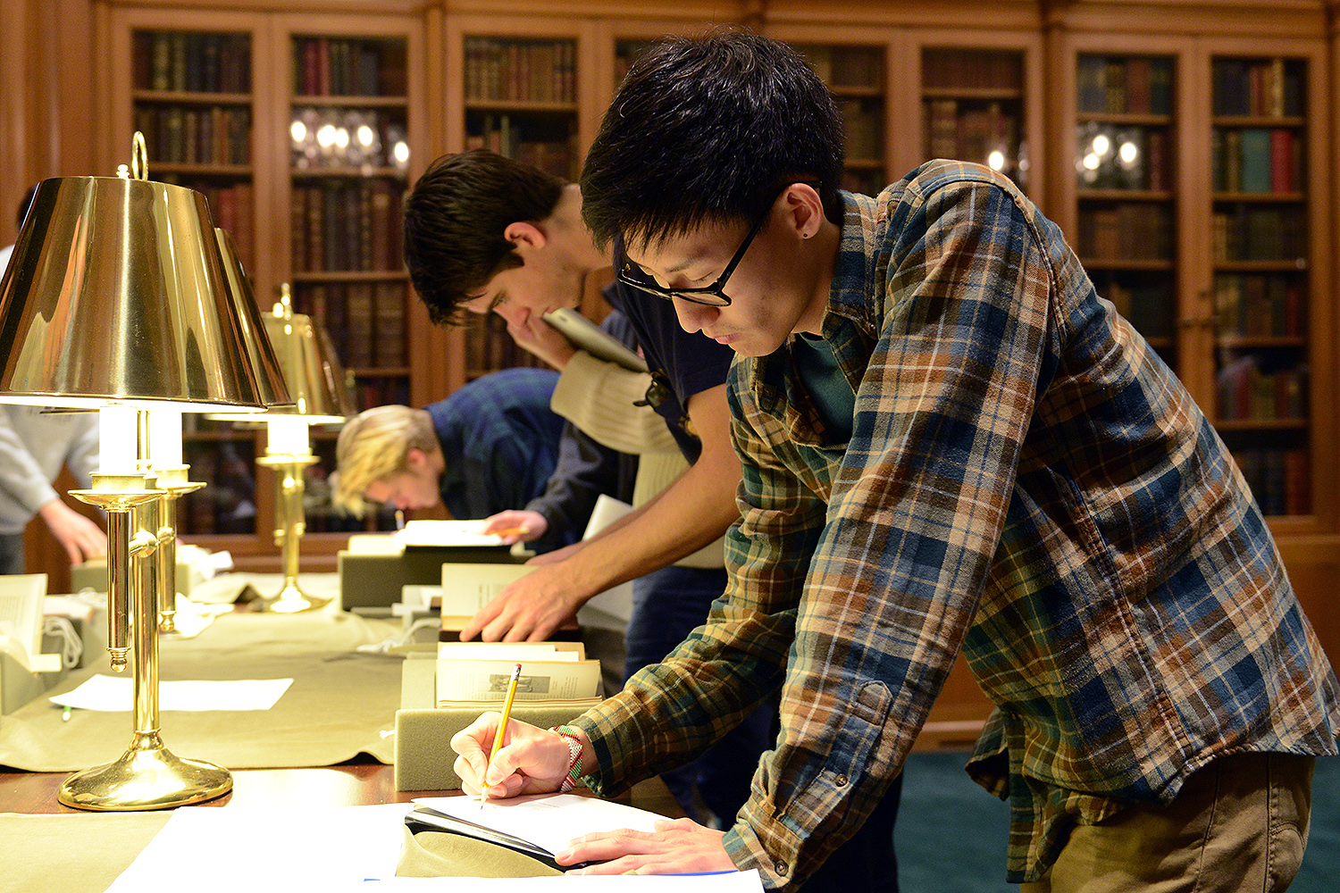 On Nov. 10, the Social and Political Changes in Korea class met at Wesleyan's Special Collections & Archives to examine archival materials on missionaries to Korea (and East Asia).