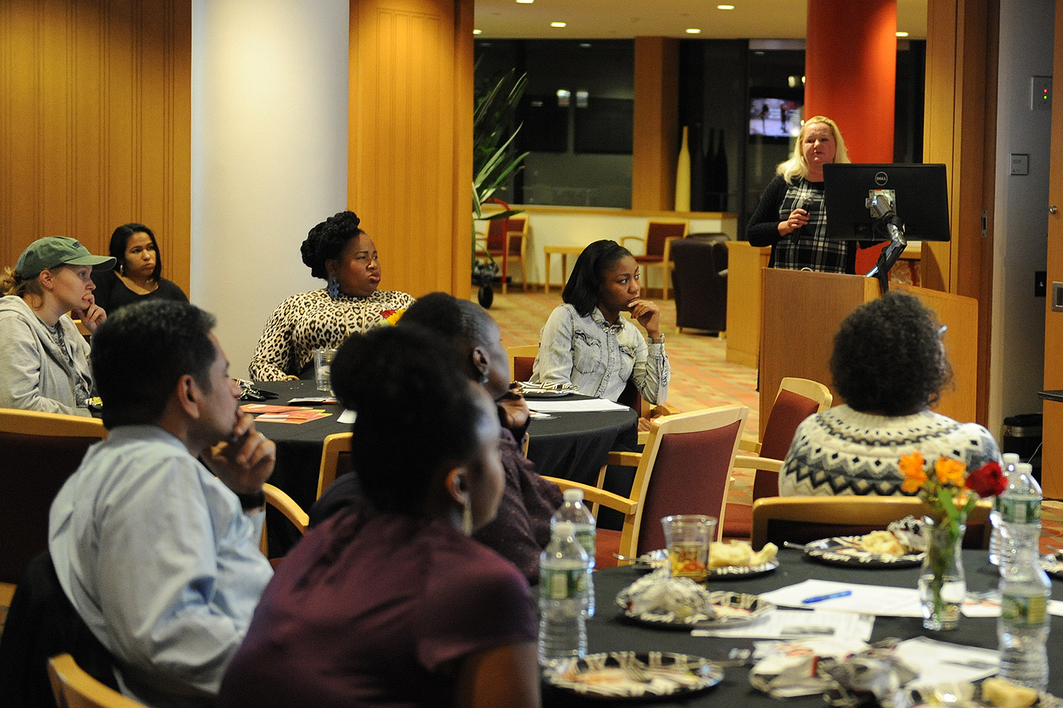 Wesleyan, in conjunction with the New England Sickle Cell Institute and the Citizens for Quality Sickle Cell Care hosted a benefit dinner for sickle cell disease awareness and research on Nov. 10 in the Daniel Family Commons.