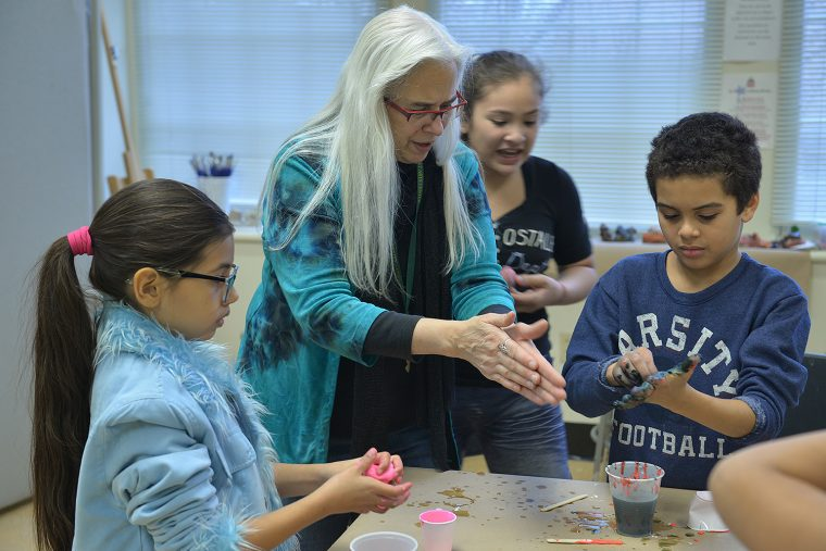 This spring, AfterSchool Program participants can take classes in hip hop, scrapbooking, creative movement, environmental art, African drumming, art and science, and more.