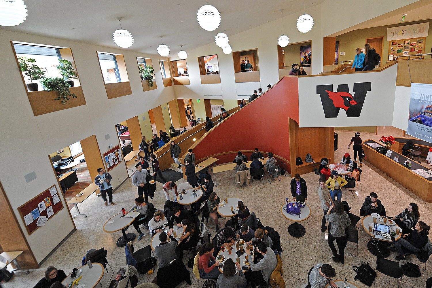 On Jan. 26, students flocked to Usdan University Center to dine and mingle with friends.