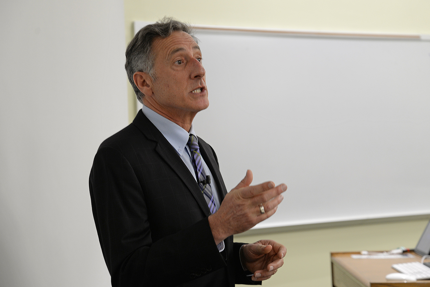 Peter Shumlin '79, Governor of Vermont 2011-2017, has been a pioneer in developing state-level policies to combat climate change, including the 2011 Comprehensive Energy Plan with a goal of achieving 90% renewable energy in Vermont by 2050.