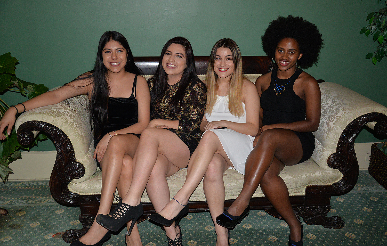 "Students of color attended the second annual ""Ebony Excellence,"" on Feb. 17 at Russell House."