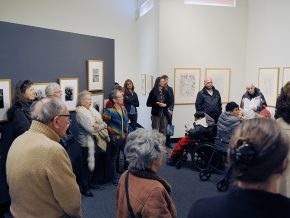 The exhibit, Changing Visions: Prints, Drawings, and Photographs During the Weimar Republic and After, opened in the Davison Art Gallery on Feb. 10.