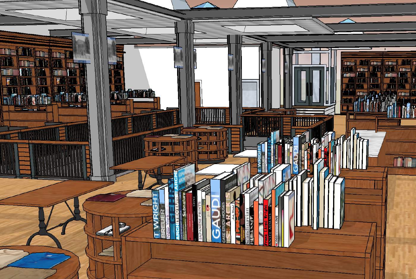 The new Wesleyan R.J. Julia Bookstore, located at 413 Main Street, is under construction and is due to open in May.