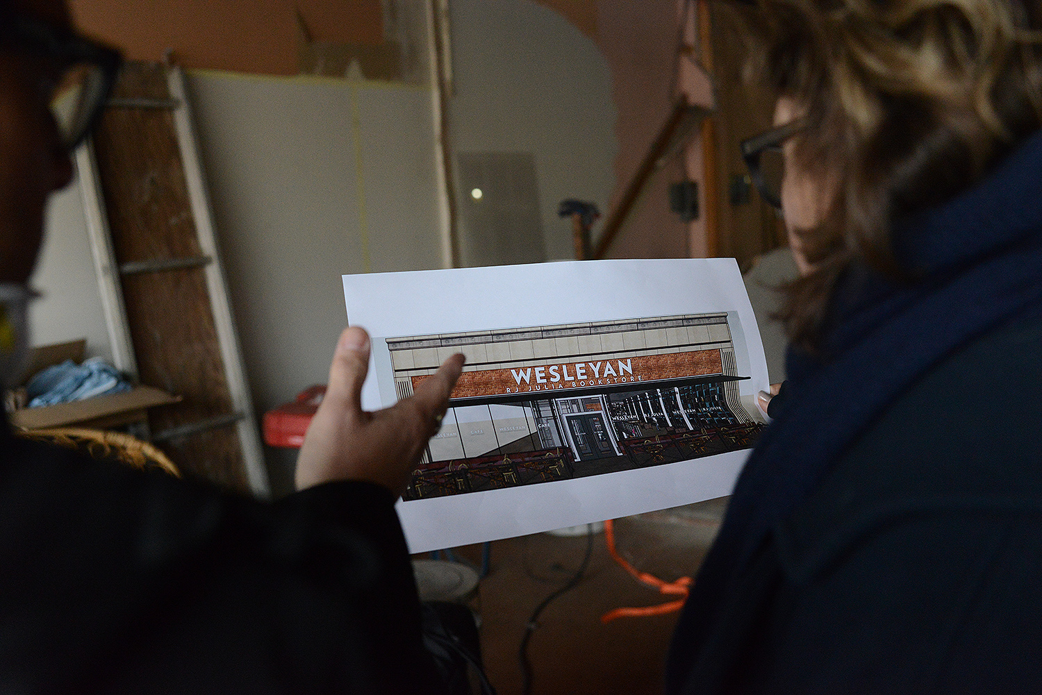 The new Wesleyan R.J. Julia Bookstore, located at 413 Main Street, is under construction and is due to open in May. The bookstore will be operated by R.J. Julia Booksellers, the nationally-known independent bookstore in Madison, Conn.