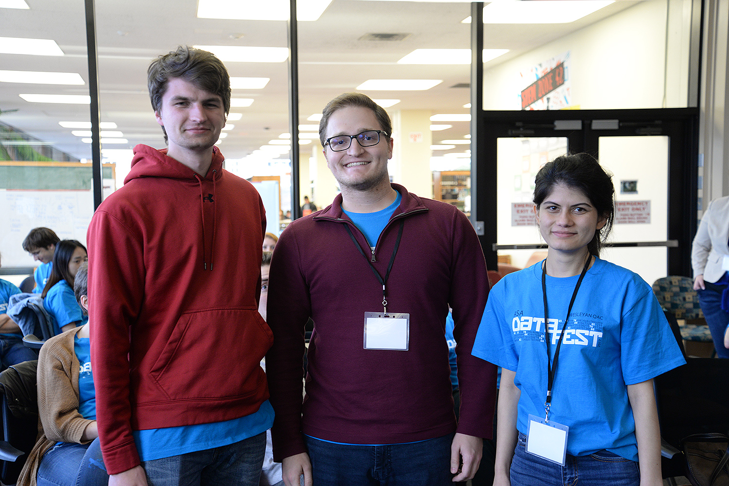 "Coup D'ata, a team from Trinity College, took honorable mention with ""Best Pattern Detection."" Students included Subekshya Bidari, Kalyan Parajuli, Tristan Peirce and Dylan Spagnuolo."