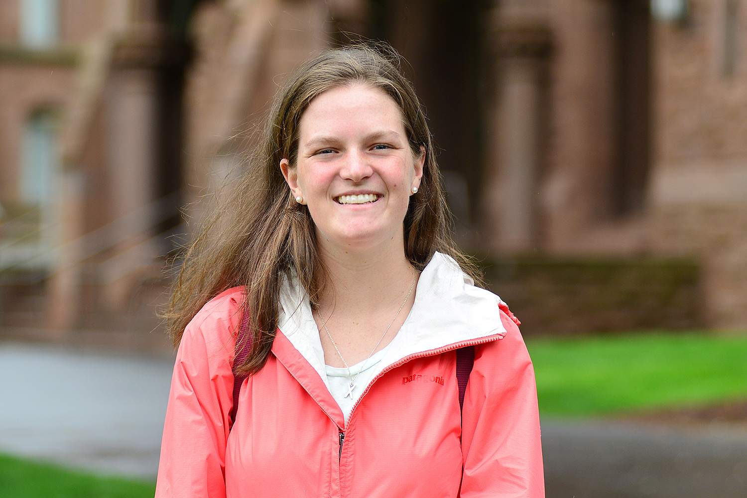 Emma Porrazzo '19 is one of 550 American students in the U.S. to receive a Critical Language Scholarship. She will spend about eight weeks abroad learning the Chinese language and culture in Suzhou, China. (Photo by Olivia Drake)