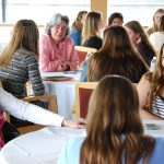 Alumnae Participate in Networking Event for Women Student-Athletes