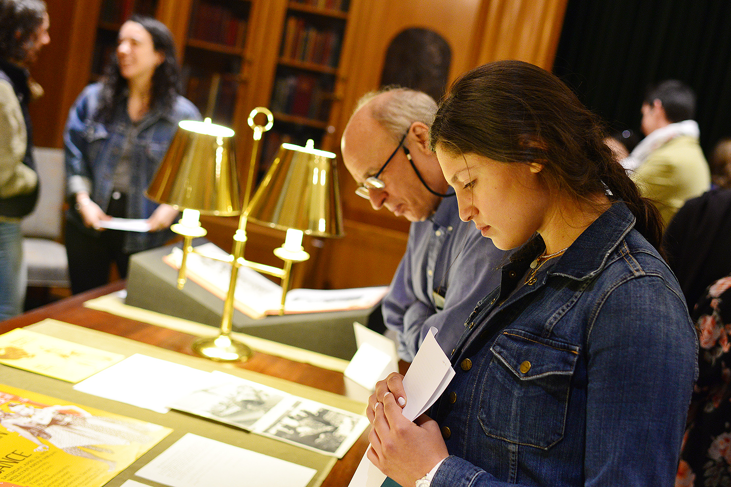Students from Wesleyan's French 325 class Museums, Objects and Empire, recently presented a pop-up exhibition on the history that surrounds Wesleyan's former museum that once occupied Judd Hall from 1871 to 1957.