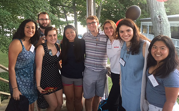 The Fairfield, Conn. was hosted by Cecilia '91 and Greg McCall on Aug. 10.