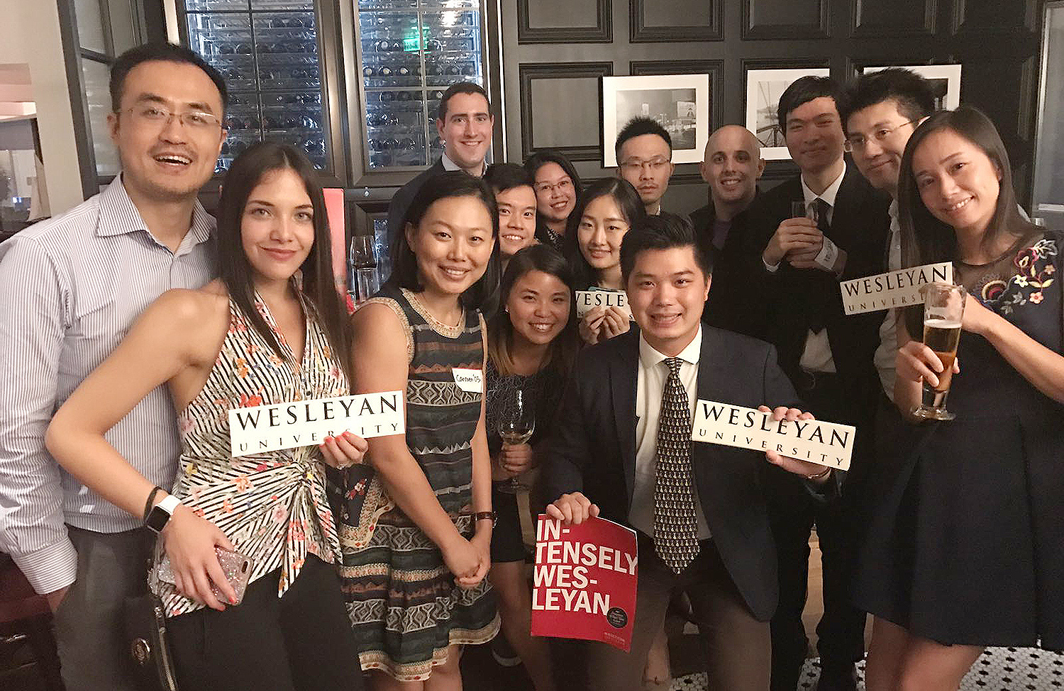 The Hong Kong Summer Sendoff was hosted by Will McLane '92, and organized by Carmen Cheung '05 on July 7.