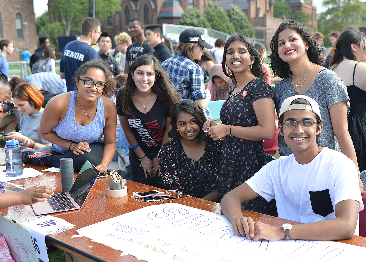 Shakti is a student organization devoted to promoting cultural awareness amongst South Asians and the greater Wesleyan community. Members of the group pride themselves in promoting inclusivity and educating their peers.