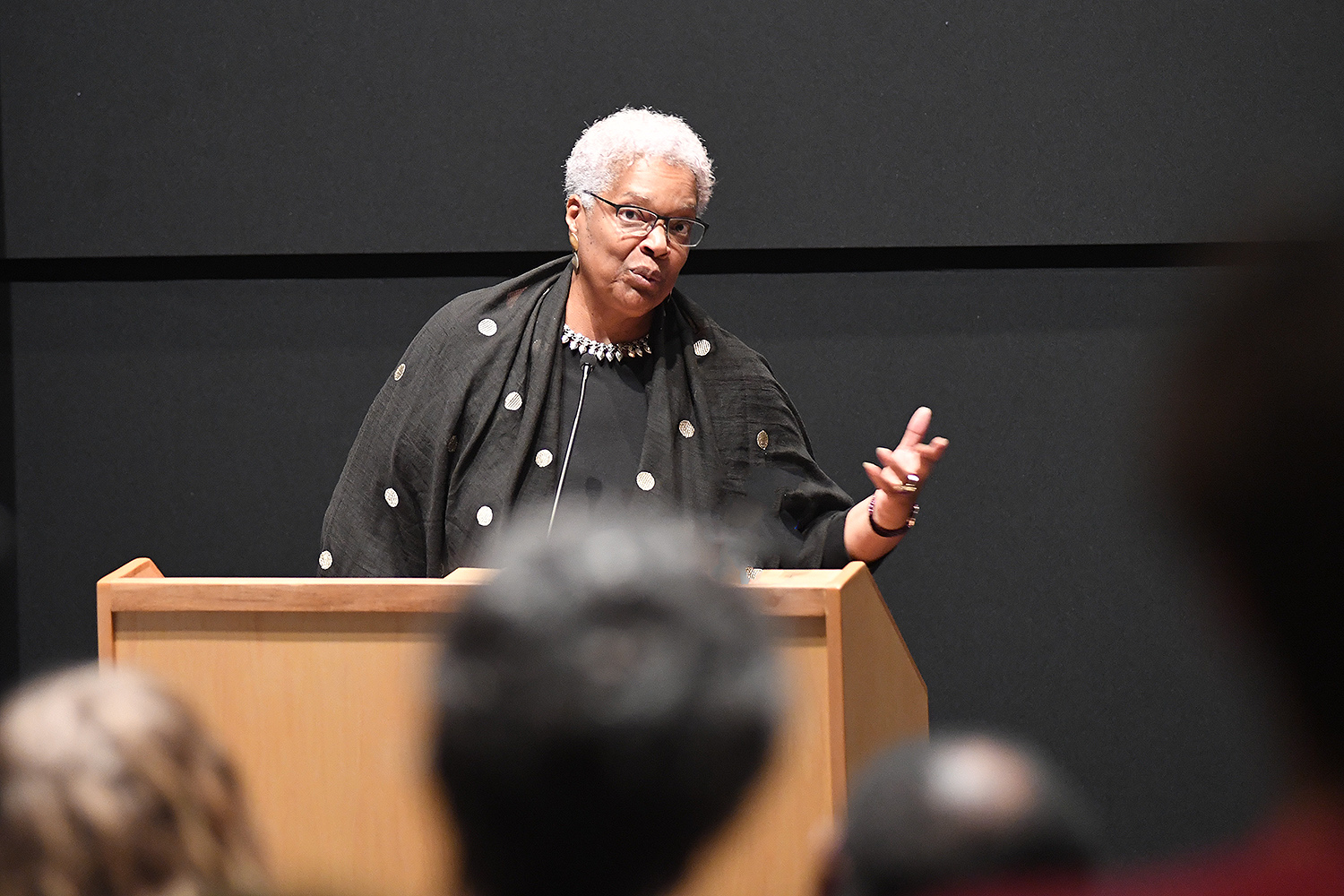 "In her lecture and book, duCille revisits such constructs as the ""superpredator"" and such cases as the ""Central Park Five"" in tracing the meaning, use and blackening of the term ""thug."" Arguing that image is ideology—that what we see on the TV screen colors how we see black boys on the street—the talk tracks the rise of law-and-order programming that figures the black male as a dark menace to society."
