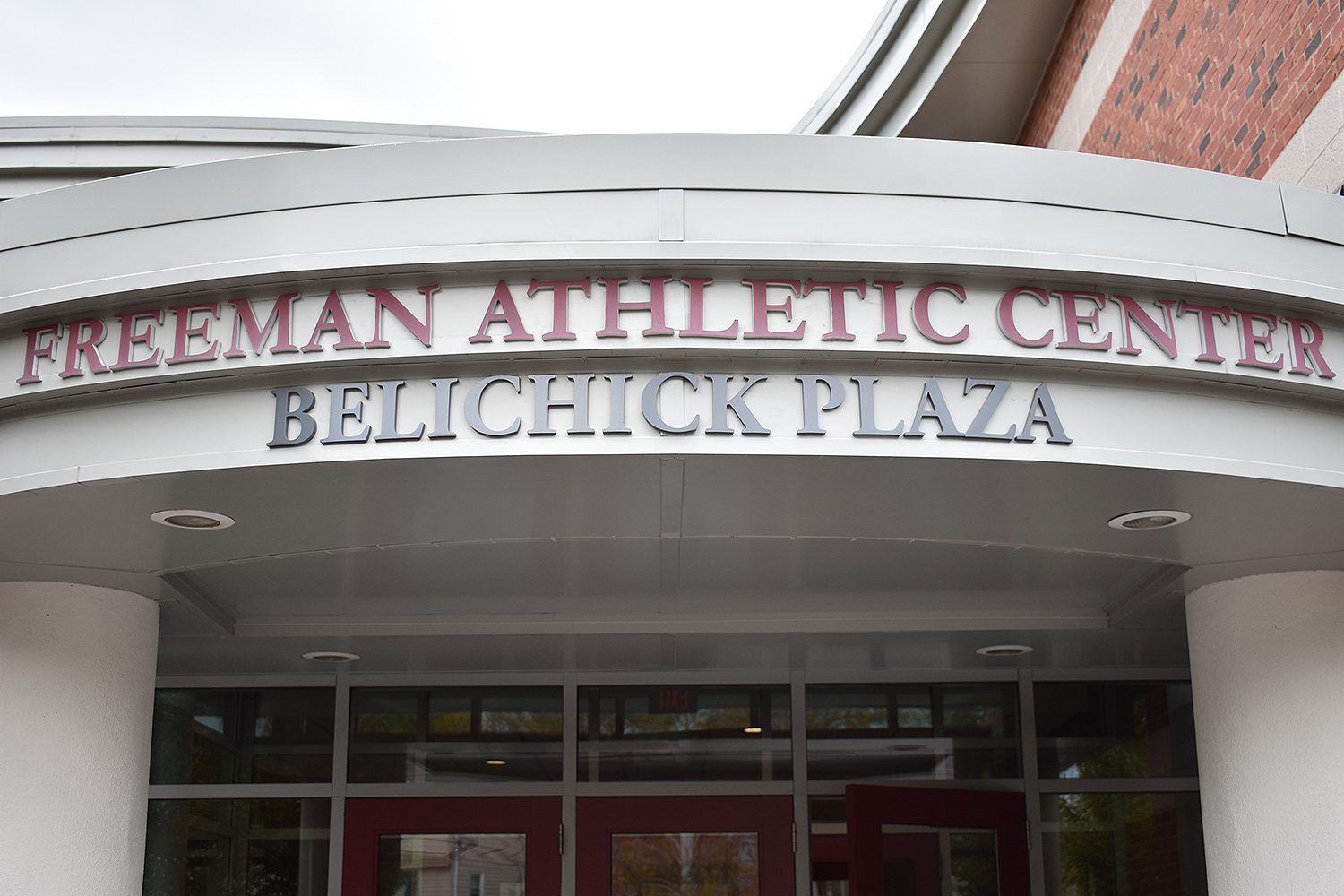 The Belichick Plaza, which houses Wesleyan's Athletics Hall of Fame, is located at the Warren Street entrance of the Freeman Athletic Center. Belichick himself was named to the Athletics Hall of Fame in 2008.