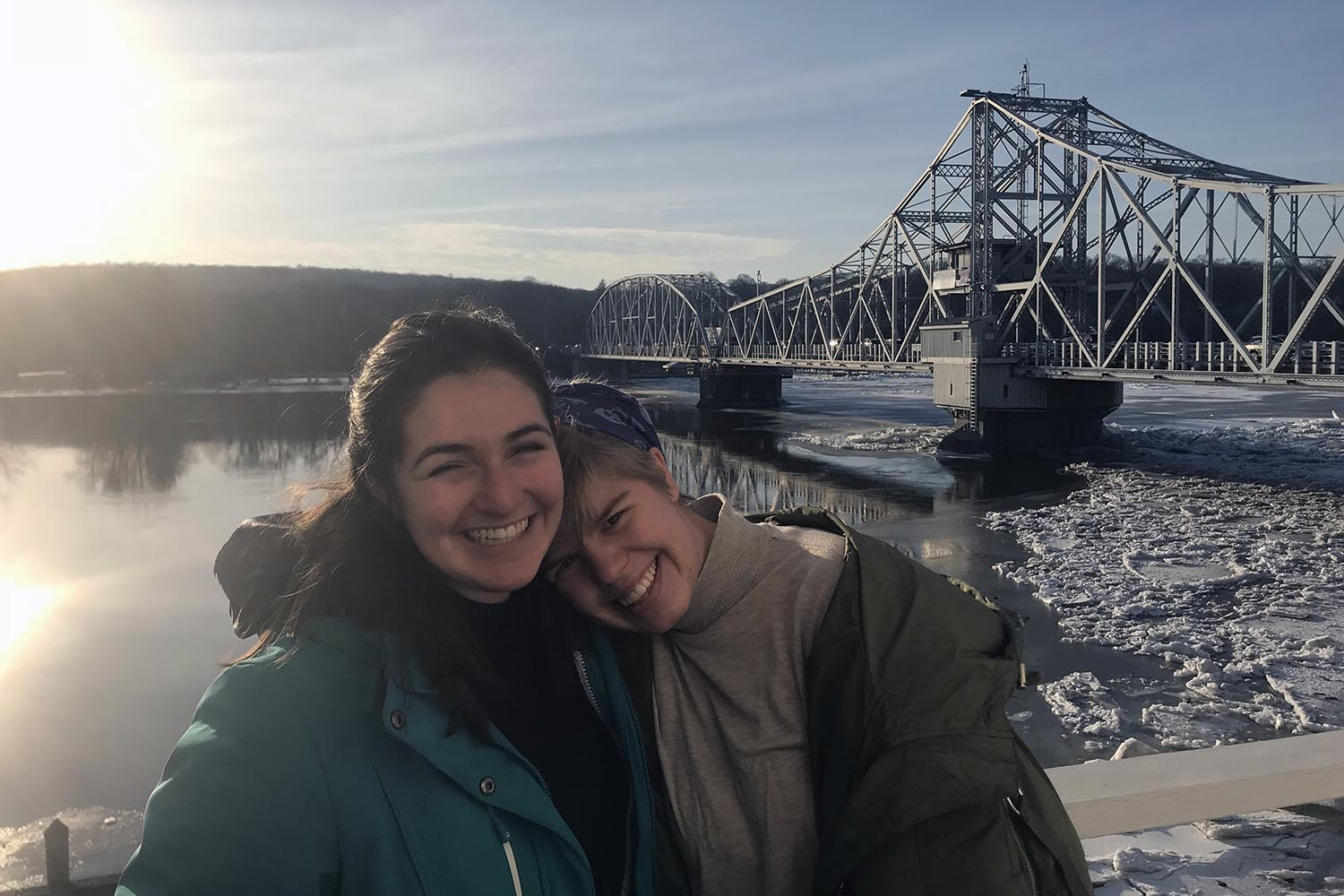 Tekla Monson '18 and Molly Bogin '18 are the first Wesleyan students to take part in a pilot program between the university and the Johnny Mercer Writers Colony at Goodspeed Musicals.