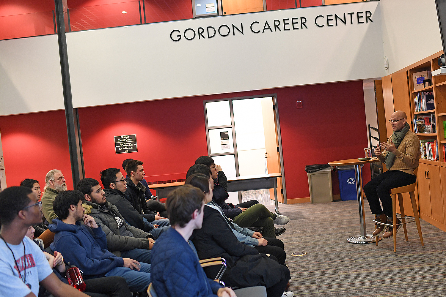 On Feb. 8, Tomer Rothschild '94 returned to campus to speak to students at the Gordon Career Center about his entrepreneurial path. Rothschild, who graduated from Wesleyan with a degree in philosophy, is the co-founder of Elite Scholars of China (ESC), an agency that aims to educate China's top high school students about their undergraduate options in the United States.