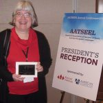 Fusso Honored with AATSEEL Award for Excellence in Post-Secondary Teaching