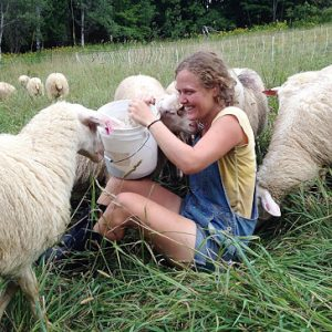"""There is so much exciting work being done now in the field of sustainable agriculture, food justice, education, etc. and I don't think I would have found my way into this work without Long Lane Farm,"" says Hailey Sowden '15."