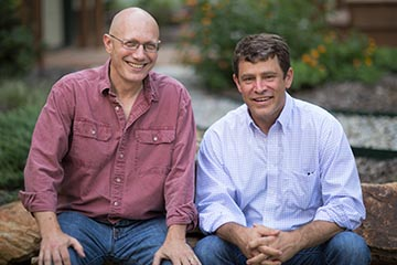Donald L. Rosenstein and Justin M. Yopp, authors of The Group (photo by Brian Strickland).