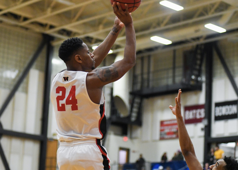 Men's basketball team guard Jordan Bonner '19 earned Second Team All-NESCAC honors and was named NESCAC Player of the Week twice.