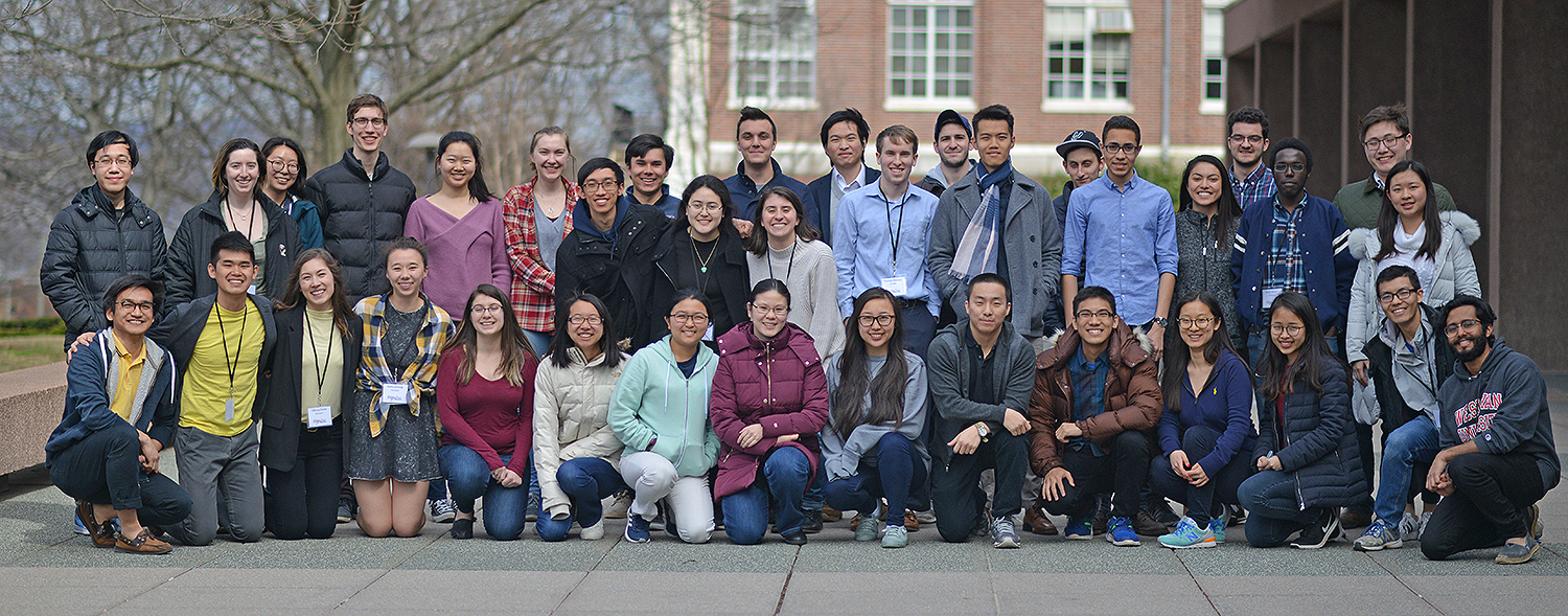 Students from six local colleges and universities participated in Wesleyan's annual DataFest.