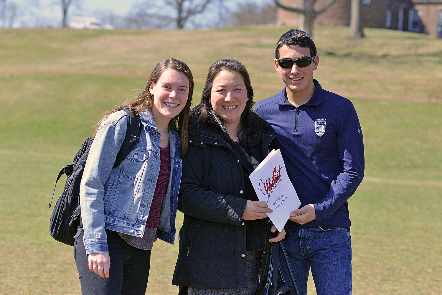 Hundreds of admitted Class of 2022 students and their families attended WesFest April 10-12 on campus. Guests had the opportunity toexperience university life first-hand and explore the diverse opportunities that a Wesleyan education has to offer.