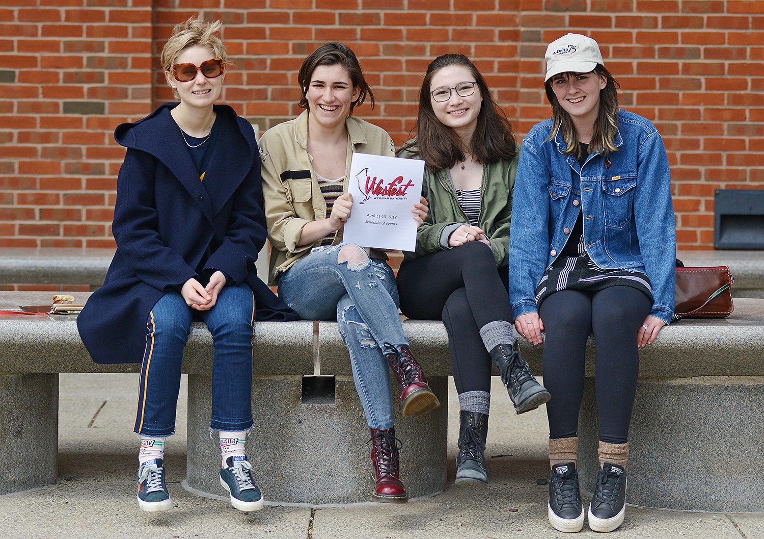 Hundreds of admitted Class of 2022 students and their families attended WesFest April 10-12 on campus. Guests had the opportunity to experience university life first-hand and explore the diverse opportunities that a Wesleyan education has to offer.