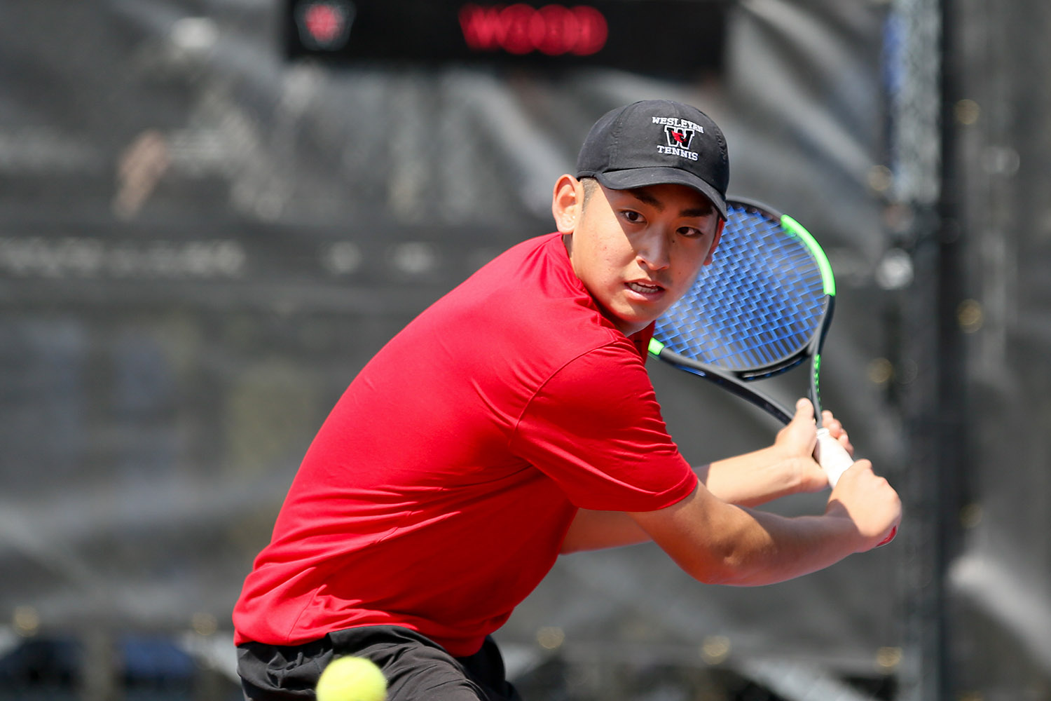 Steven Chen (men's tennis). The softball one should be credited to Jonas Powell '18, and the tennis one should be credited to Christopher Winslow.