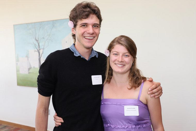 ohn Vasant '18 won the Trench Prize; Charlotte Pitts '18 won the Alumni Prize in the History of Art
