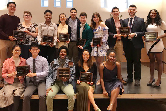 In addition, SALD hosted a Leadership Awards Banquet in Beckham Hall on April 27.
