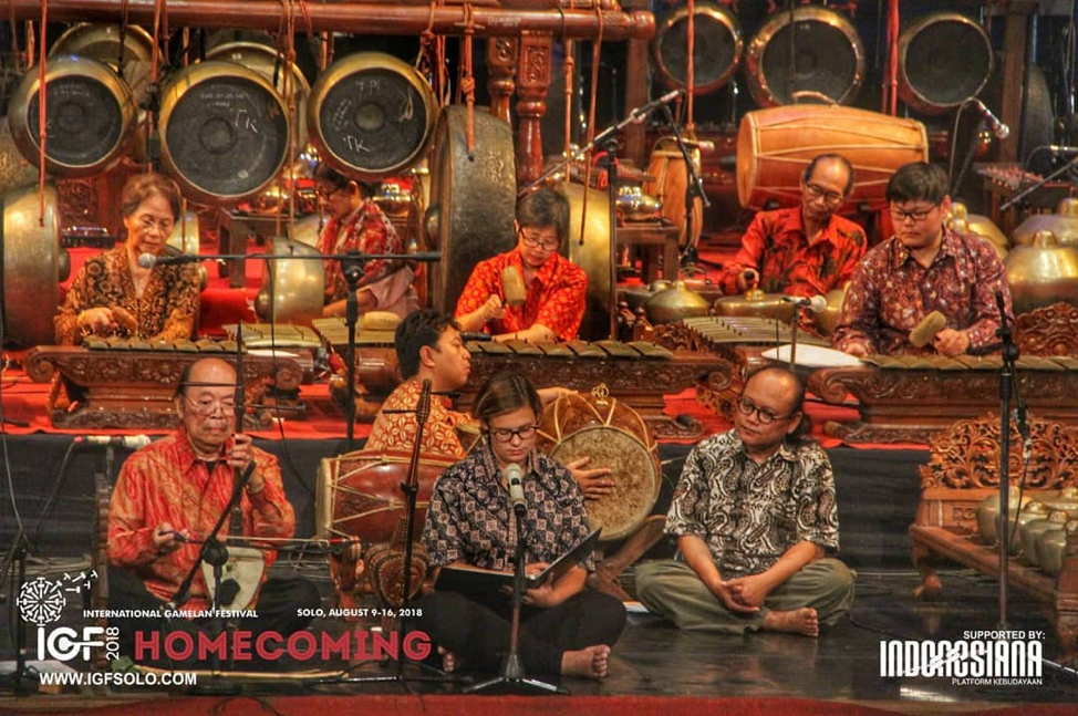 Directed by Artist-in-Residence I.M. Harjito, Wesleyan Gamelan Ensemble performed classical Javanese gamelan pieces.