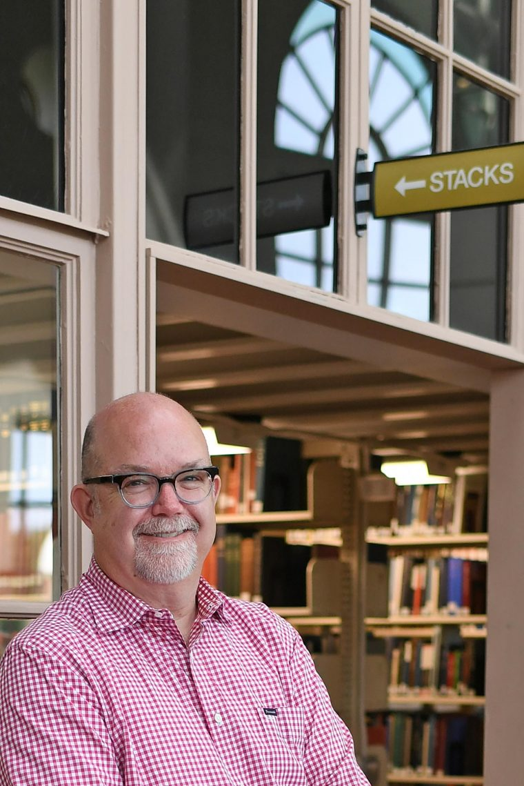White's overarching goal is to make the Wesleyan libraries the academic crossroads of campus.