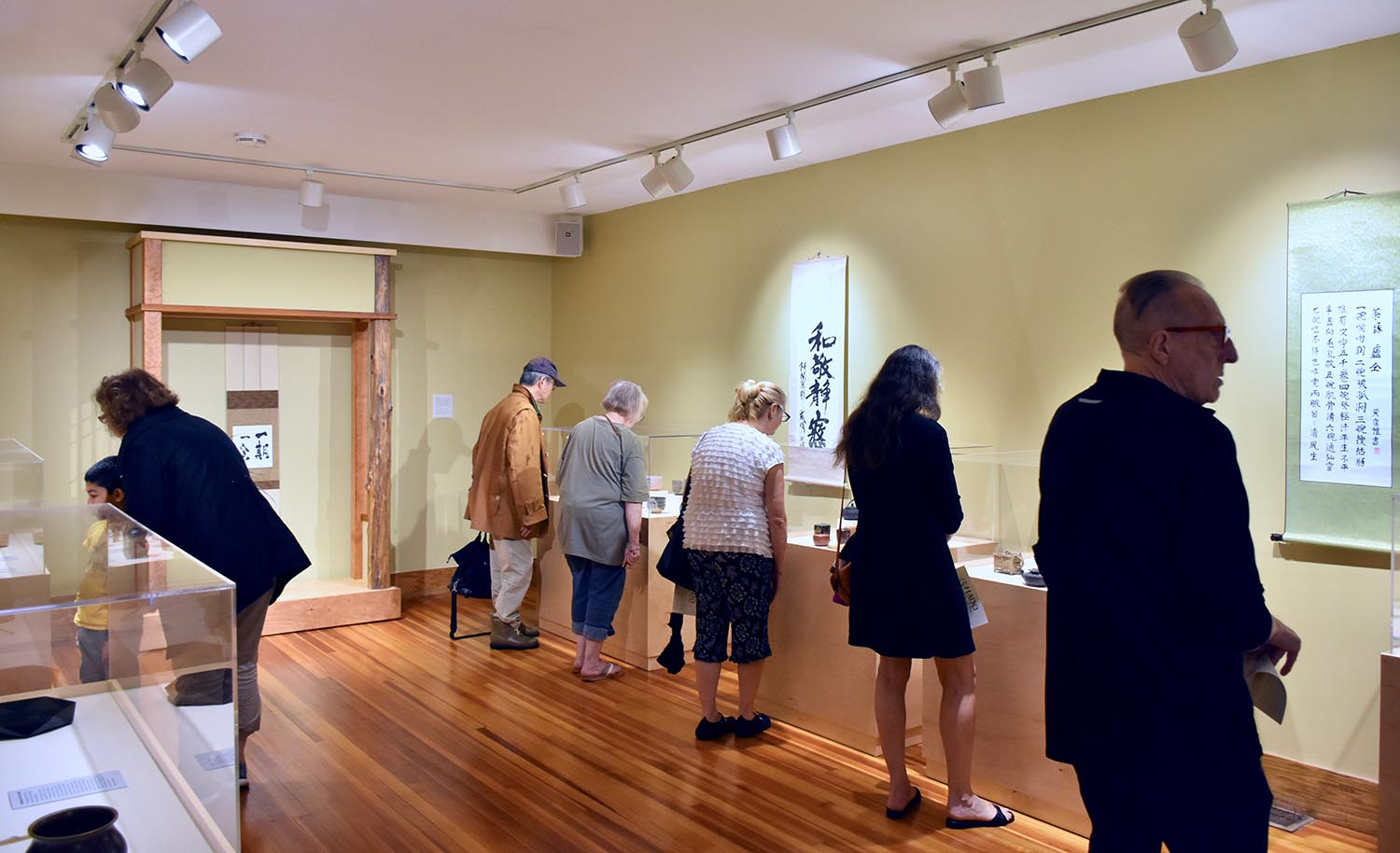 The exhibition Chado: The Way of Tea opened in the College of East Asian Studies Gallery at Mansfield Freeman Center on Sept. 12. The exhibit explores the prominent role and significance of the tea ceremony as an art and spiritual practice in China and Japan.