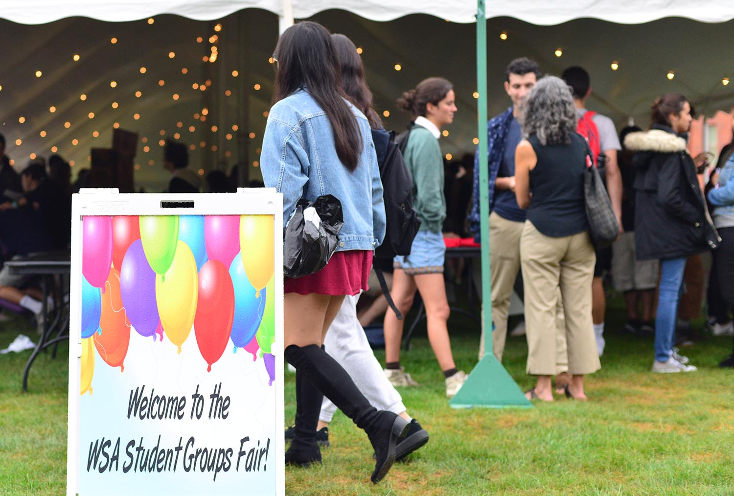 The Wesleyan Student Assembly hosted its annual Student Groups Fair Sept. 7 on Andrus Field.