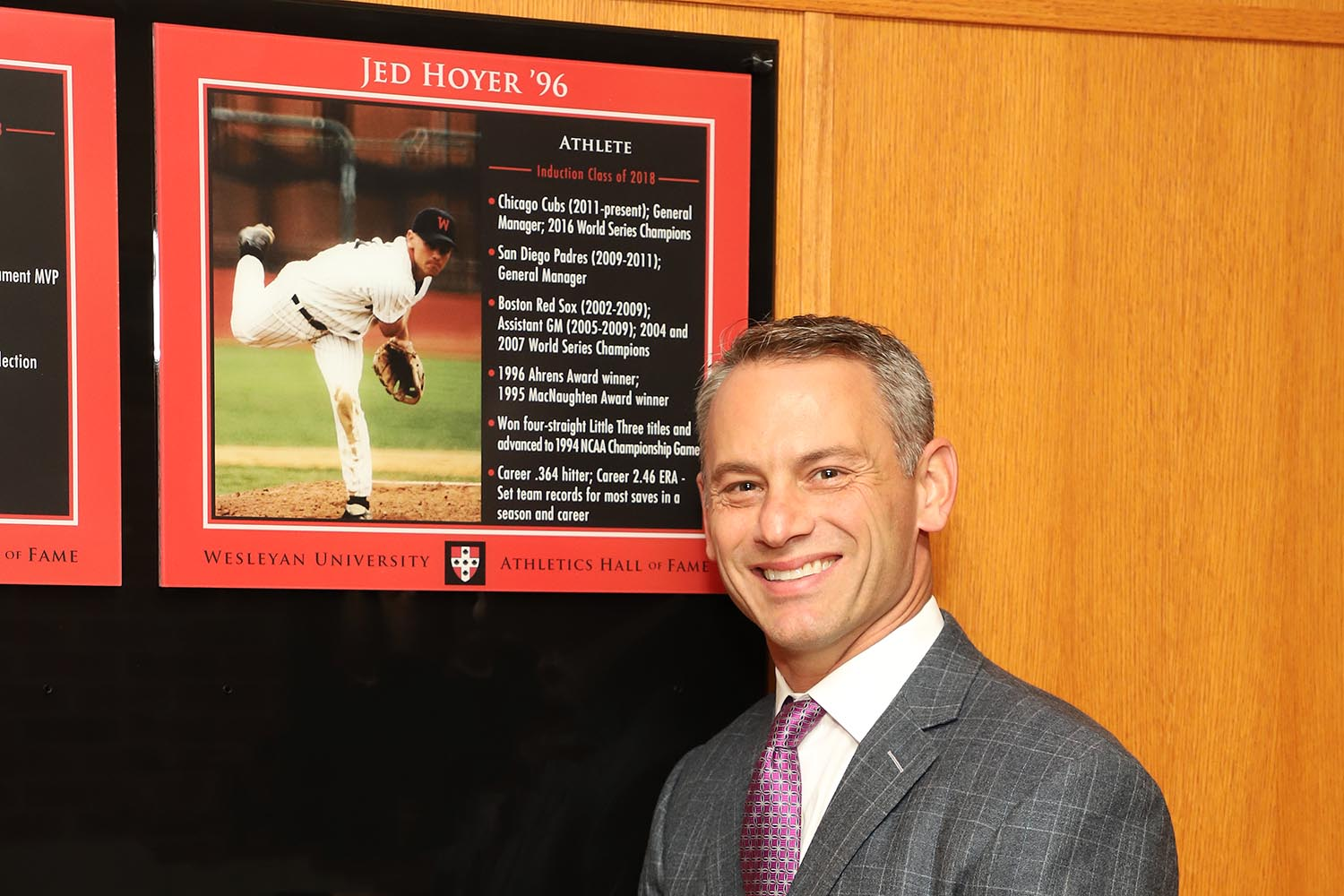 Jed Hoyer '96 (Baseball)