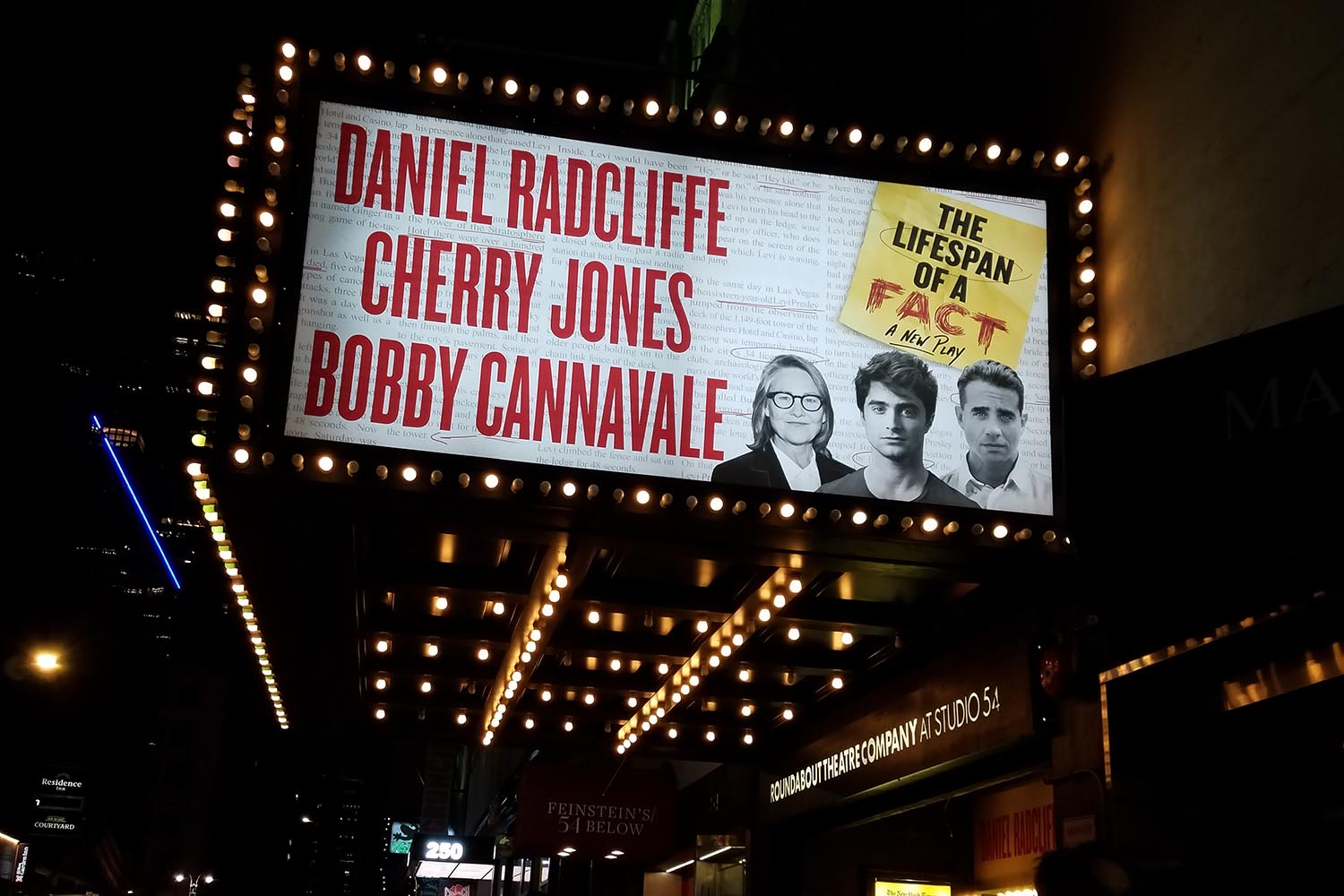 In Lifespan, actor Daniel Radcliffe is back on Broadway with Tony Award-winner Cherry Jones and Emmy Award-winner Bobby Cannavale as they take on the high-stakes world of publishing.
