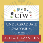 8 Undergraduates Make Presentations at Arts and Humanities Symposium