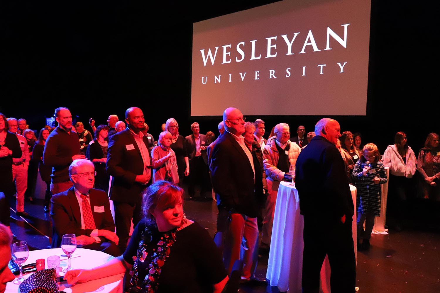 Attendees also enjoyed a reception before the performance at the Maxwell M. and Ruth R. Belding Theater.