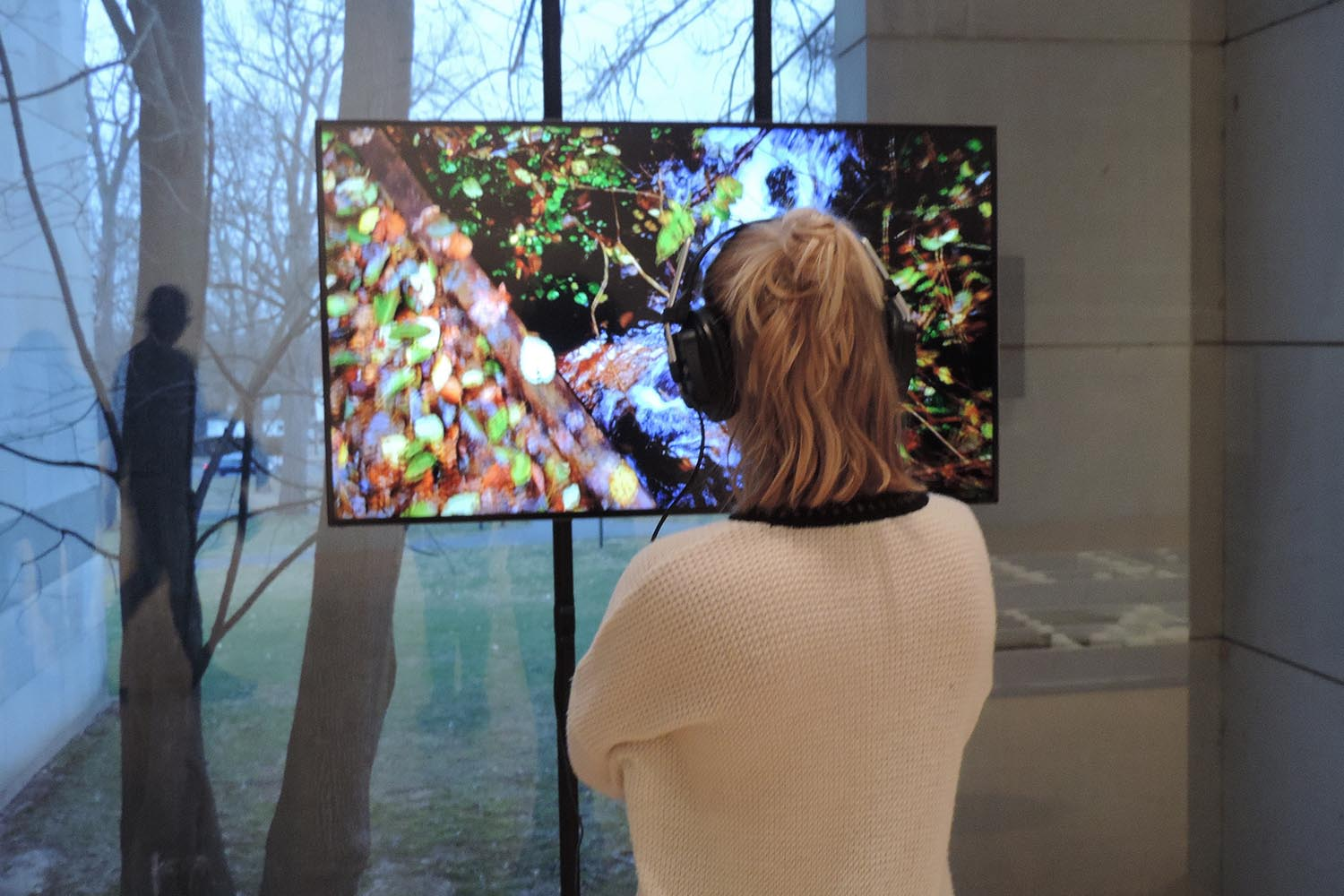The exhibit,Audible Bacillus, opened at the Ezra and Cecile Zilkha Gallery on Jan. 29.